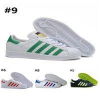 brand new 86a94 66538 AD07-7 Adidas Superstar 80s sneakers venta al por mayor para mujer de los  zapatos