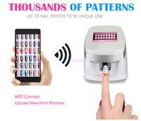 Nails Digital Nail Art Impresora w003 Máquina de Pintura de Uñas Portátil Smart Phone Control Wireless Wifi Nail Gel Polaco