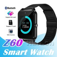 Bluetooth Smart Watch Z60 Smartwatch Luxury Stainless Steel ...