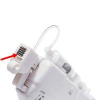 DHL Vanadium Cartucho de aguja de cristal de titanio para dispositivos de inyección de alta presión Agujas de blanqueamiento de la piel Mesoterapia gratis Meso pistola