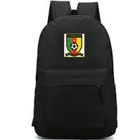 الكاميرون الكاميرون على ظهره حقيبة العيد الوطني لحزمة إيتو نجم مدرسة لكرة القدم لكرة القدم packsack حقيبة الرياضة المدرسية Daypack حقيبة في الهواء الطلق