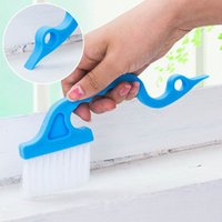 Plastic Gap Window Cleaning Brush Hand- Held Groove Toilet ai...