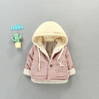 Casual Warm Winter Children Baby Infants Girls Kids Thicken ...