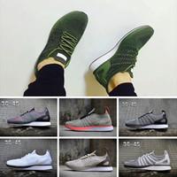 the best attitude e0da3 bc048 2018 Nike Flyknit Racer Be True Nuevo 1.0 2.0 Malla Multicolor Oreo fly  Racer Sneakers Shoes
