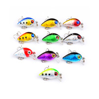 2018 Hot Sell 2. 6cm1. 6g Crank Bait 10 Color Swim Fishing Lur...