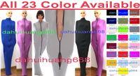 Unisex Body Bags Mummy Costumes Sacchi a pelo Sexy 23 colori Lycra Spandex Mummia Suit Costumi Sacchi a pelo con maniche interne del braccio DH275