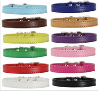 Pet Dog Collar leather Collars Dog Cat Collars Luxury Americ...