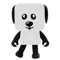2020 الرقص المحمولة ستيريو لعبة الكلب سماعات بلوتوث لاسلكية مشغل موسيقى مكبر الصوت لفون سامسونج مع صندوق البيع بالتجزئة أفضل لعبة هدية