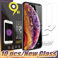 Per iphone 11 Schermo Pro X XS XS XR MAX vetro temperata della pellicola della protezione per l'iphone 8 7 Plus con Package Paper