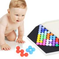 لغز الذكاء الهرم الخرز لوحة الذكاء المنطق العقل ألعاب العقل الدماغ دعابة ألعاب تعليمية للأطفال هدية عيد الميلاد