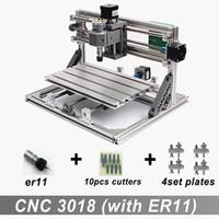 CNC3018 avec ER11, bricolage mini cnc machine de gravure, gravure laser, Pcb PVC fraiseuse, bois routeur, cnc 3018, meilleurs jouets avancés