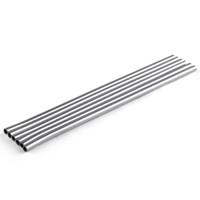 215mm aço inoxidável de aço inoxidável beber palha Durable Study Cup Metal Bar Família Cozinha Frete Grátis