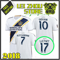 Ultime qualità 2018 Los Angeles Galaxy Soccer Jerseys 18 19 Los Angeles Galaxy ALESSNDRINI J.DOS SANTOS GIOVANI LLETGET home jersey