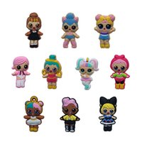 10Pcs Lot LOL PVC Cartoon Shoe Charms Ornaments Buckles Fit ...