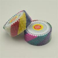 1440 sztuk Proste szpilki Assorted Kolor Szycie Faux Pearl Okrągły Głowy Morsage Dekoracyjne szpilki