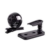 SQ9 Mini Kamera 1080P HD Video Kaydedici Kızılötesi Gece Hareket Algılama Mikro Kamera 360 Derece Dönme Dijital Kamera 36pc / lot