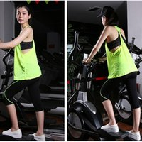 professional running Fitness Sportswear women Yoga Suits Qui...