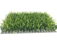 الجدار الأخضر جودة العشب الاصطناعي العشب داخلي / 60 سنتيمتر x 40 سنتيمتر وهمية العشب البقس واقعية واقعية تبحث حديقة الحديقة 125-8011