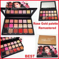 In stock 18 Color eyeshadow Beauty Rose Gold remastered pale...