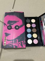 PAT MCGRATH LABS Mothership I II III Eyeshadow Palette 10 Shades Subliminal Sublime Subversive Eye Shadow طويل الأمد ظلال Palettes