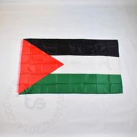 Palestina / Palestina bandeira da bandeira 3x5 transporte gratuito nacional FT / 90 * 150 centímetros Hanging Bandeira Nacional Palestina Decoração bandeira da bandeira