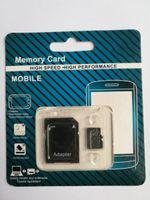 Nouvelle version DHL 32GB 64GB Micro Memory Card Classe 10 avec carte de classe 10 cartes mémoire TF avec adaptateur SD gratuit