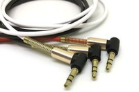 3. 5mm Auxiliary Audio Cable Cord Flat 90 Degree Right AUX Ca...