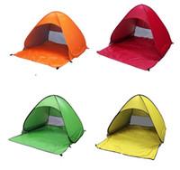 Tendas Abertura Exterior Rápida automáticas instantâneo portátil Praia barraca de praia barraca de praia Shelter Caminhadas família camping barracas para 2-3 Pessoa