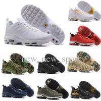 huge discount 5727d 74918 2018 Venta Caliente Hombres Mujeres Zapatos Corrientes Negro Rojo Blanco TN  Ultra KPU Zapatos Hombres Zapatos