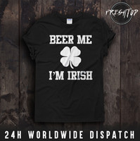 St. Patrick' s Day T Shirt Beer Me I' m Irish Irelan...