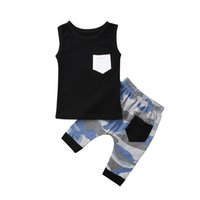 Boys Girls Clothing 2Pcs Outfits 0- 24M Cute Newborn Infant B...