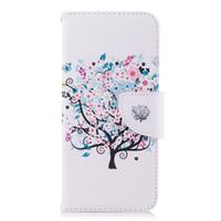 Little Tree Cell Phone Case TPU Retour Cas PU Couverture en cuir Wallet Card Slot Money Holder 165 Modèles pour Option