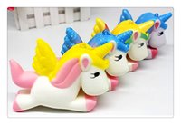 Squishy Pegasus Unicorn Jumbo Unicorn Squishy Slow Rising Ca...