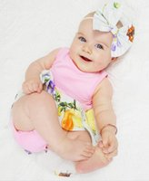2018 Summer Newborn Clothes Baby Girls Flower Dresses Toddle...