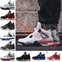 2018 New 4 4s Basketball Shoes man 4s Pure Money Royalty Whi...