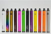Visão Spinner 2 bateria 1600mAh ajustável torção Tensão eGo e-cigarros Bateria 3.3 ~ 4.8V Spinner II 510 Tópico DHL livre