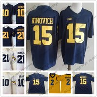 Wholesale michigan wolverines football jerseys for sale - Michigan  Wolverines Chase Winovich Ben Mason Lavert Hill 8184a7901
