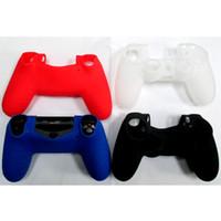Syytech واقية الإبهام عصا لينة سيليكون حالة غطاء ل PS4 تحكم أسود، أبيض، خيار اللون الأحمر الأزرق