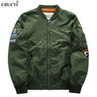 CBUCYI Pilot One мужская куртка, 2018 новинка мужская осенняя мотоциклетная куртка Bomber Jacket Plus 6 XL
