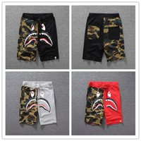 Summer Mens Shark Shorts Cotton Camo Causal Shorts Men Casua...