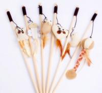 gato bromista Lambaw proveedores de mascotas poste de palo de madera sisal juguetes anillo de la bola pluma natural larga cadena flexible