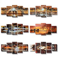 5D diy diamond painting African Landscape scenery pictures o...