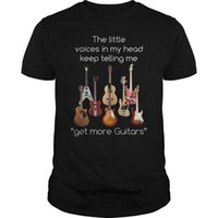 funny t shirts Guitar ShirtGet More Guitars Shirt 2018 Fash...