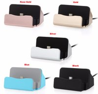Universal 2 IN 1 Daten USB-Kabel Android Handy Dock Ladegerät Micro USB / Typ C Docking Station Station Cradle Lade Sync Dock