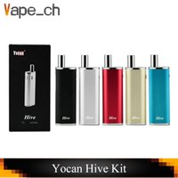 Original Yocan Hive 2in1 vape mod kits for Wax & Coil 650mah...
