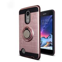 Dla LG Aristo 3 Alcatel 1x Evlove Samsung Galaxy J2 Core 3D Pierścień 360 stopni Kickstand Najnowszy telefon Case OppPag