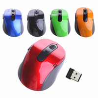 2. 4G USB Nano Receiver Wireless Optical Mice Mouse For Win V...