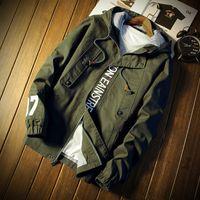 Bomber rosso invernale Giacca invernale sottile da uomo Impermeabile uomo tattico militare giacca manica lunga cappotto per uomo versione Jack casual