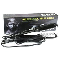 Electric Volumizing Hair Iron Fast Hair Straightener Profess...