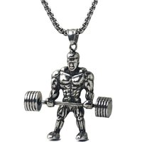 Wholesale Surgical Steel Jewelry Jewellery Metal Muscle Man ...